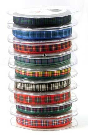 Tartan Ribbon, 10 mm wide by Scotweb Tartan Mill   Mad for Plaid ... 6660325a316