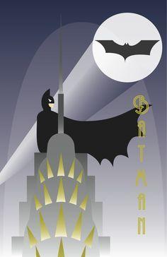 Art Deco Superheroes on Pinterest | 98 Pins