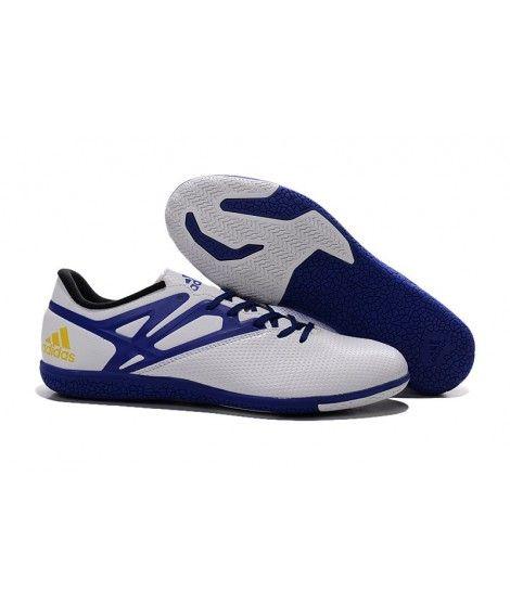 the best attitude 12a90 30fa2 ... promo code for adidas messi 15.3 in botas de fútbol blanco azul 015ba  0e649