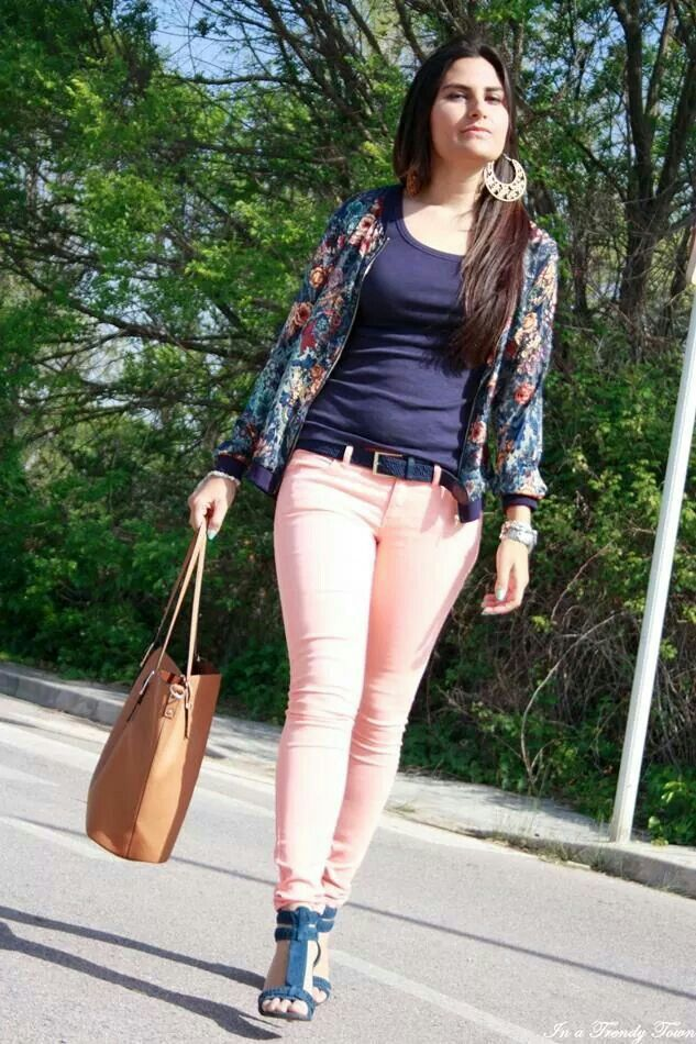 Rosa pastel stile bloggers pinterest ropa pintas y for Combinacion de color rosa