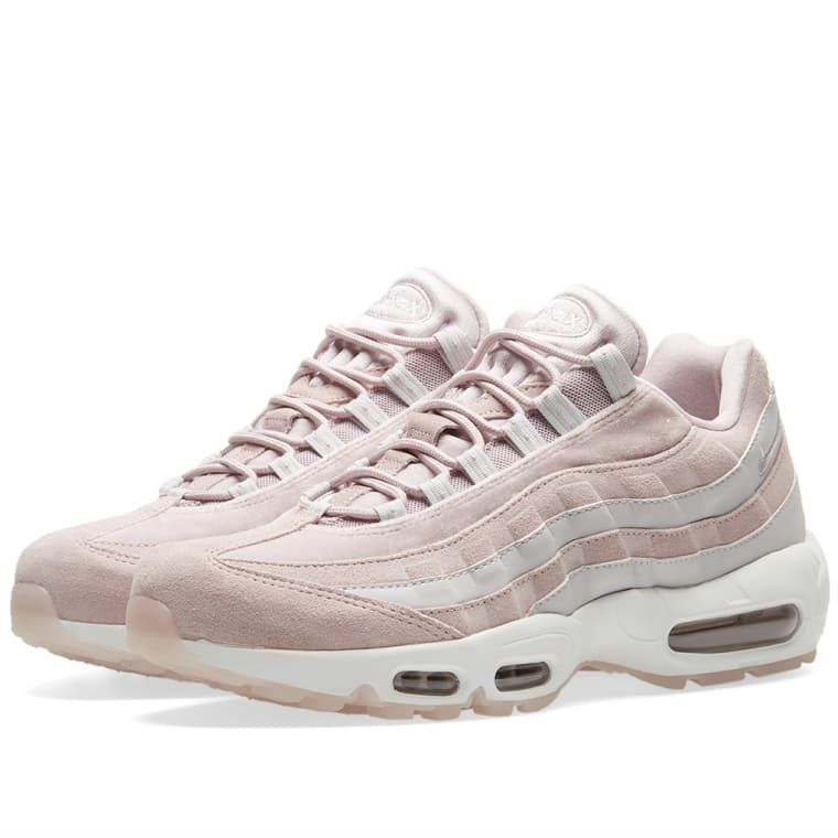 "get cheap 98911 f1980 Introducing ""particle rose"" hues to the dimensional look of Nike s air max  95 LX"