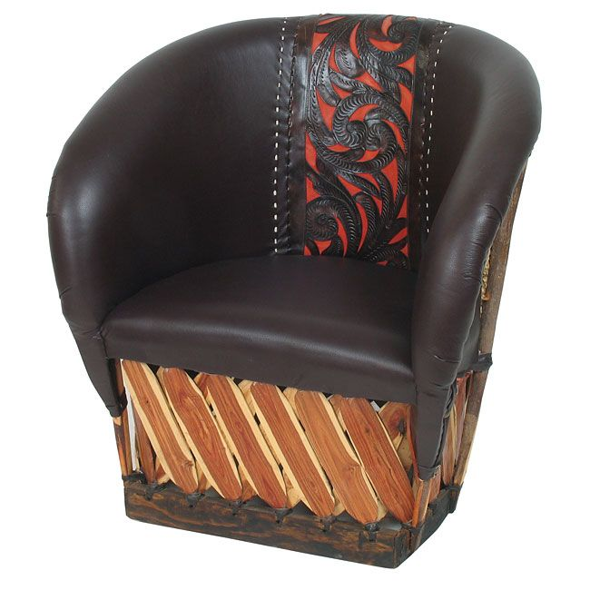 Tanned Cowhide Equipale Leather Chair In 2019