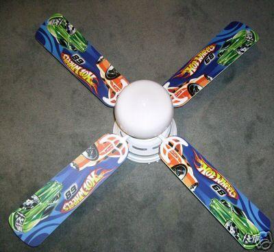 New hot wheels car 4 blade kids room ceiling fan w light ebay new hot wheels car 4 blade kids room ceiling fan w light aloadofball Gallery