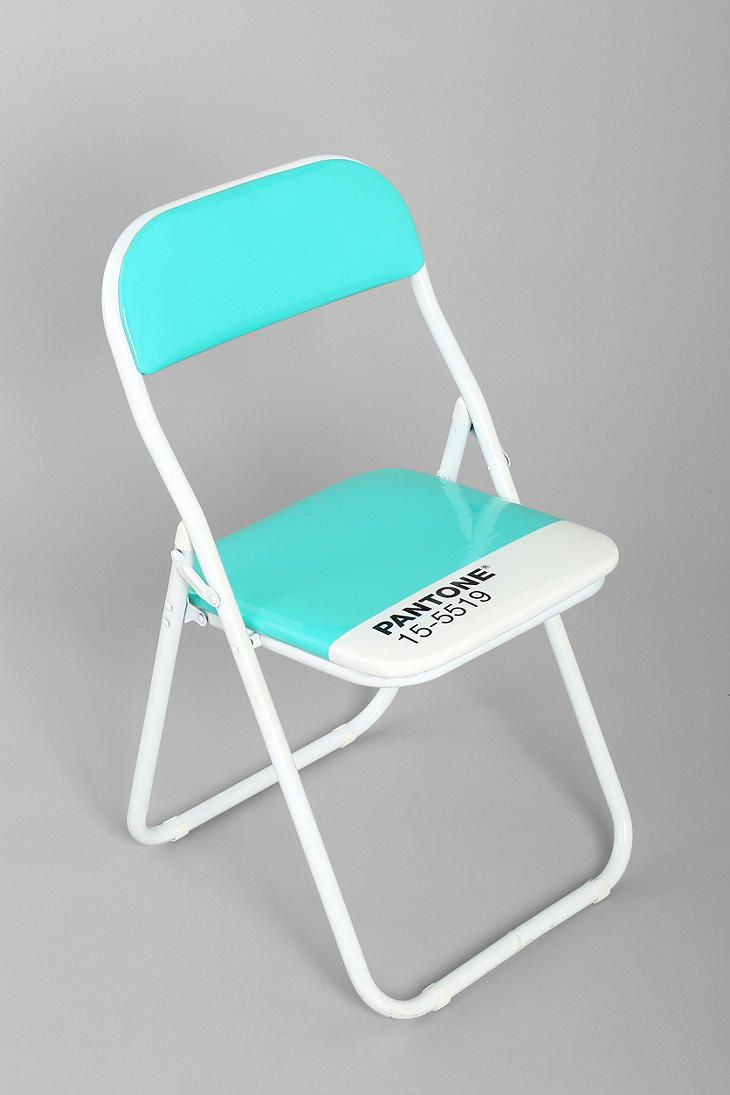 pantone folding chairs for sale. in 7 pantone chip colors. love these! on sale at urban outfitters today pantone. side chairstackable chairspantonefolding folding chairs for e