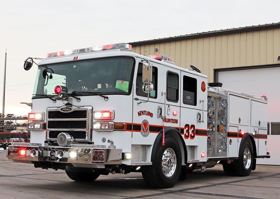 Kentland VFD New Engine 2019 Fire engine, New engine
