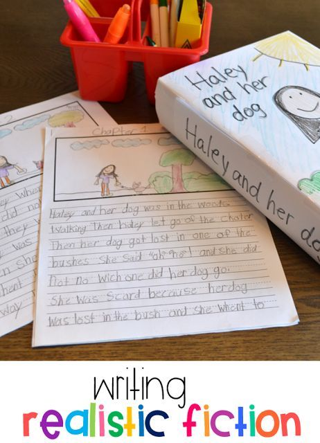 Writing Realistic Fiction in 1st and 2nd Grade! is part of Realistic fiction writing, Writing chapter books, Realistic fiction, First grade writing, Primary writing, Elementary writing - writing realistic fiction, writer's workshop in first grade, writer's workshop in second grade, writing chapter books