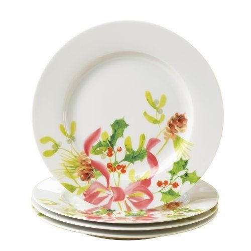 Paula Deen Signature Dinnerware Christmas Wreath Collection 4-Piece Salad/Dessert Plate Set by Meyer. $32.49. These dessert plates are conveniently microwave and dishwasher safe. The sturdy porcelain construction makes these dessert plates suitable for daily use. Four 8-inch porcelain dessert plates. Use these dessert plates as part of a fully coordinated festive table during the holidays. Quality assurance guarantee. A chocolate gingerbread cake is a fantasti...