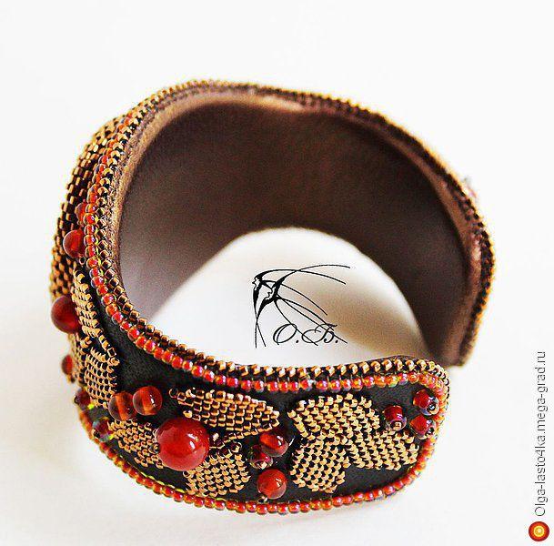 """Браслет с сердоликом """"Талисман"""" - украшения из камня, авторский браслет. МегаГрад - портал авторской ручной работы"""