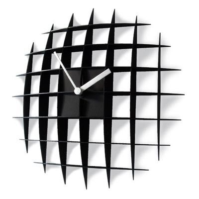 Grid Clock Japanese Designed And Very Cool Wall Clock Wall Clock Clock Contemporary Clocks