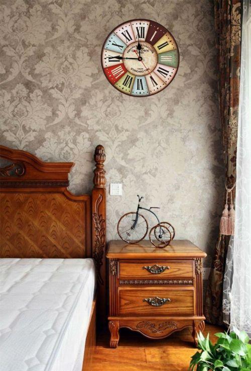 schlafzimmerwand mit vintage deko dekorieren Wanddekoration - deko schlafzimmer wand