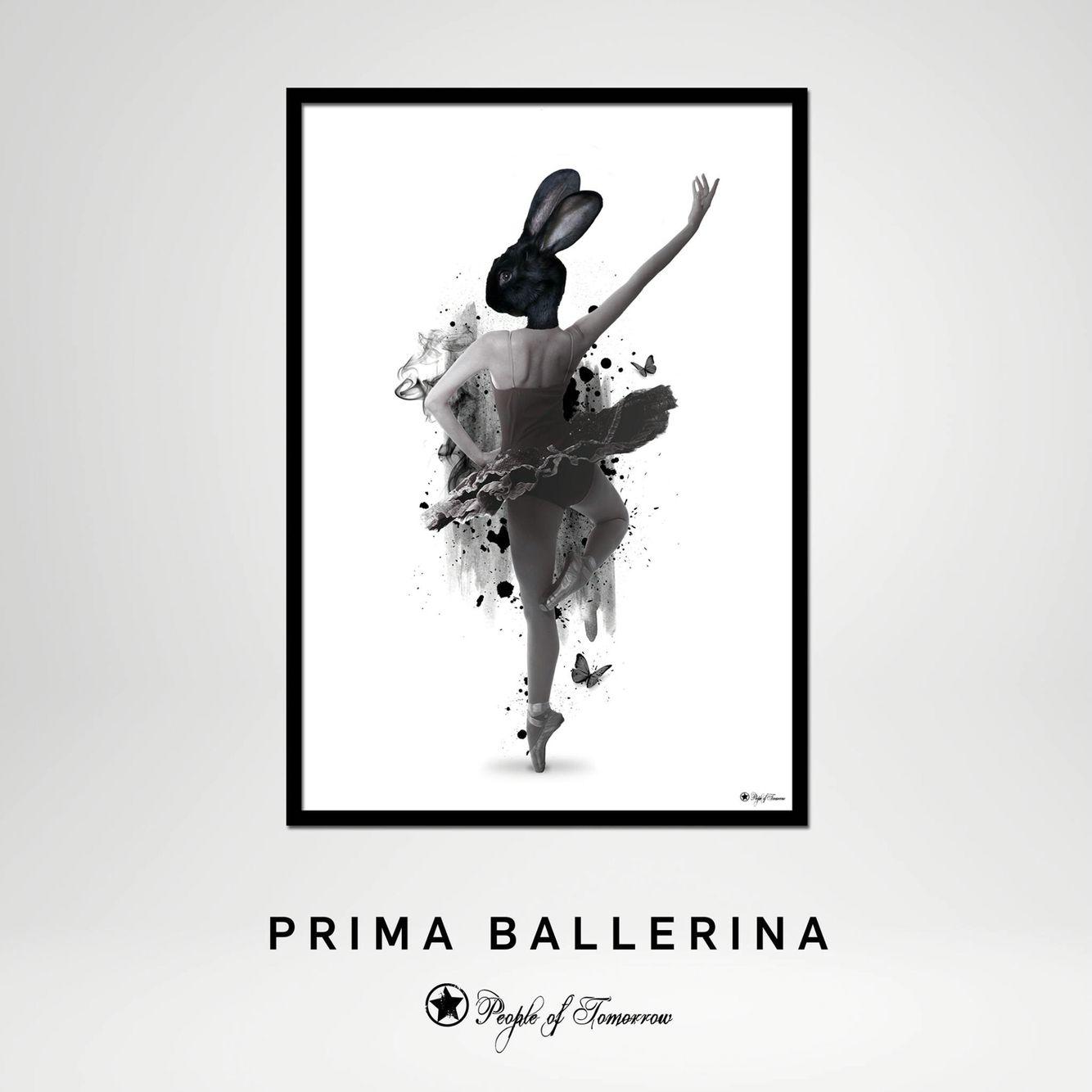 New year - new poster⭐️ PRIMA BALLERINA #poster #design #interior #home #decor #graphicdesign #scandinavian #interiør
