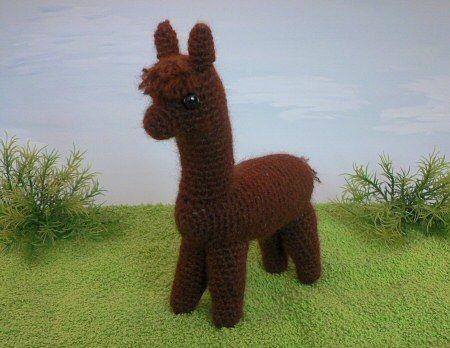 Alpaca Amigurumi Patron Gratis : Alpaca llama amigurumi free pattern✓ ok to sell with credit to