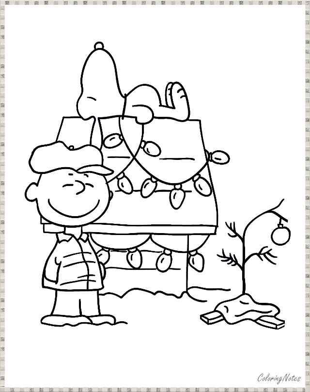 Christmas Coloring Pages Charlie Brown Christmas Colors Snoopy Christmas Christmas Coloring Pages