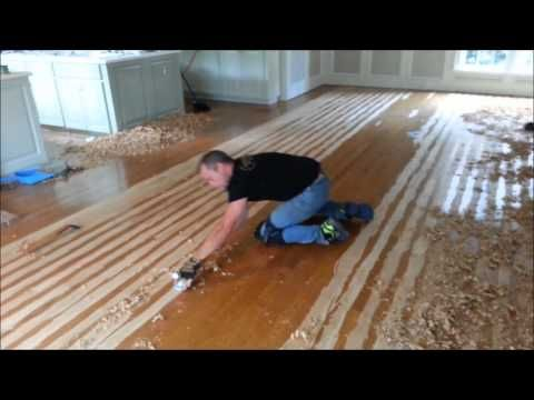 Hand Sed Hardwood Floors