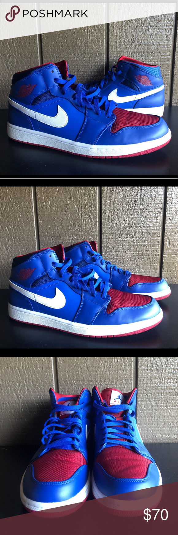 new york d4b51 90951 ... cheap air jordan 1 mid rivalry pack detroit pistons 12.5 nike air  jordan 1 retro mid