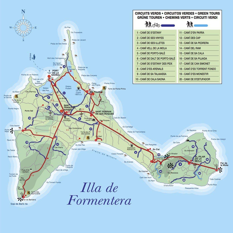 Formentera en bicicleta Casarin Pinterest Ibiza Spain and