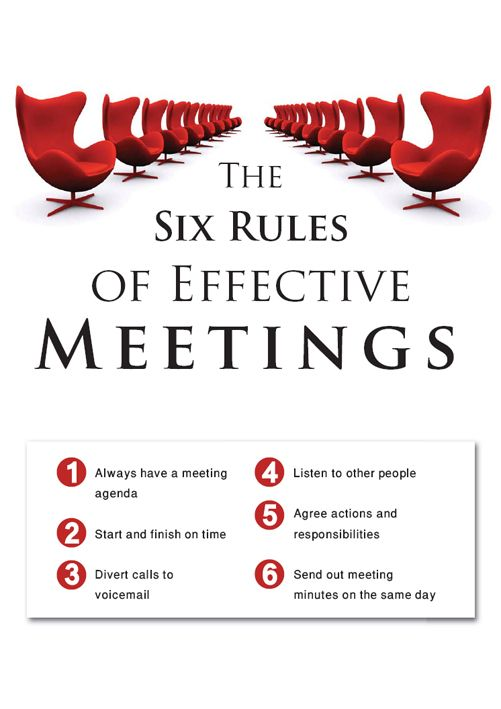 17 Best ideas about Effective Meetings on Pinterest | Business ...