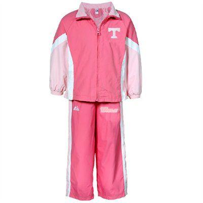 97b501b32b7c Majestic Tennessee Volunteers Infant Girls Pink 2-Piece Jacket ...