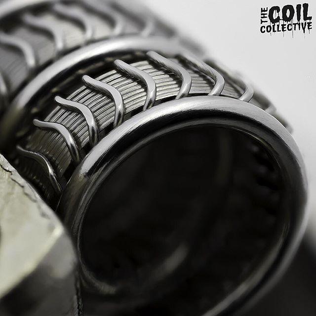 vapeporn #vape #coilbuilds #coilart #coilporn