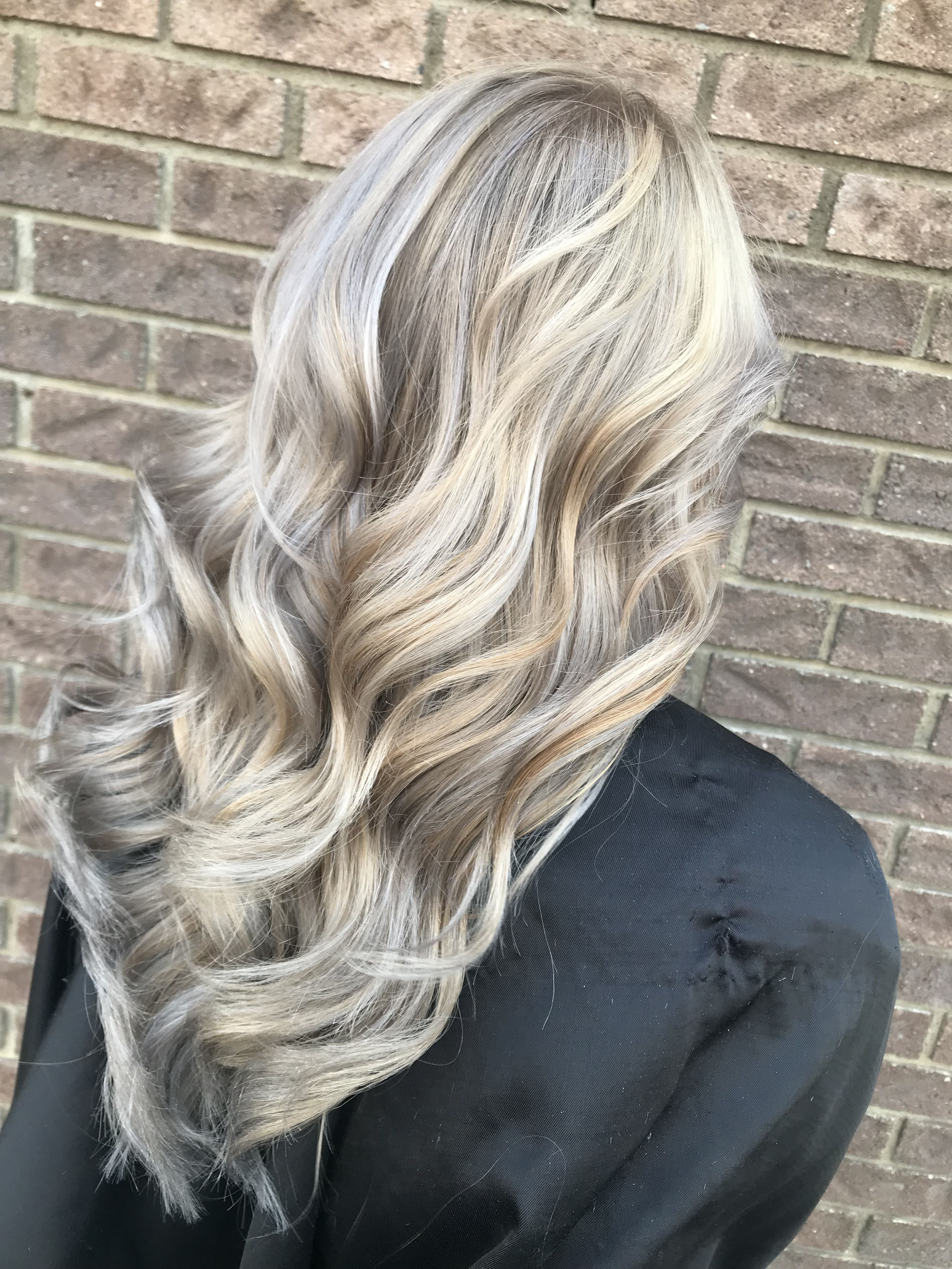 Icy blonde with silver toner hair styles pinterest silver