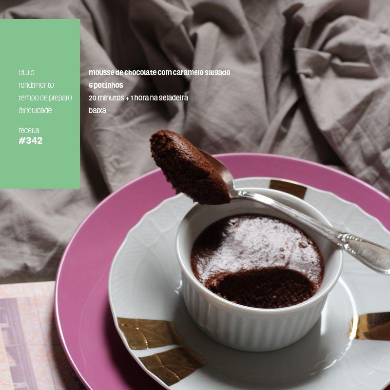 Moldando Afeto » mousse de chocolate e caramelo salgado