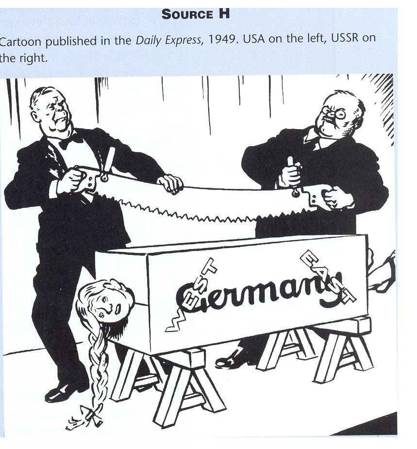 The Comic News Editorial Cartoon By Paul Conrad Tribune: Cartoon Published In The Daily Express, 1949, USA On The