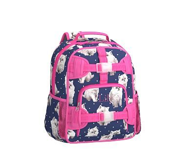 Pre K Backpack Mackenzie Navy Pretty Kitty Kitty