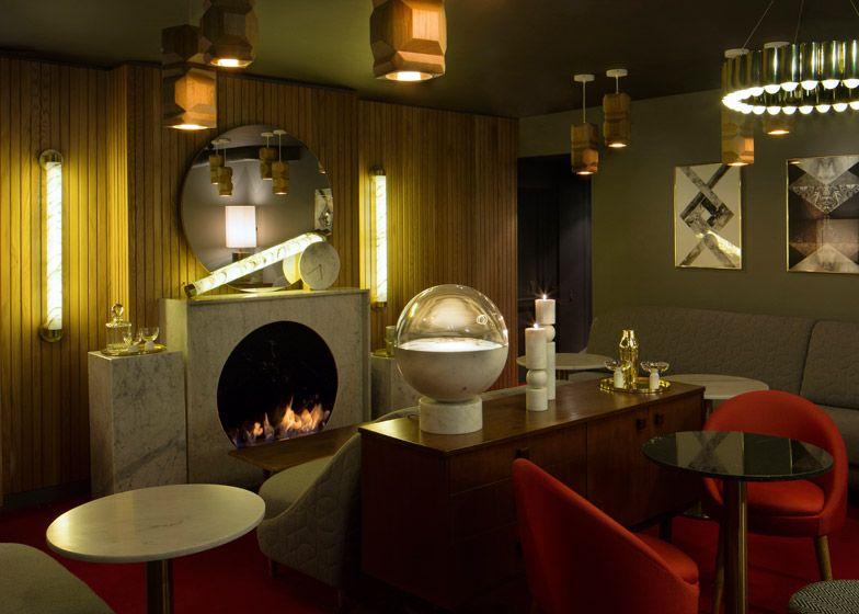 lee broom pairs oak and marble for london restaurant interior - Light Hardwood Restaurant Decoration
