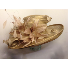Hat 1593 Gold For Hire Wedding Available To Or From Hadleigh Hats In