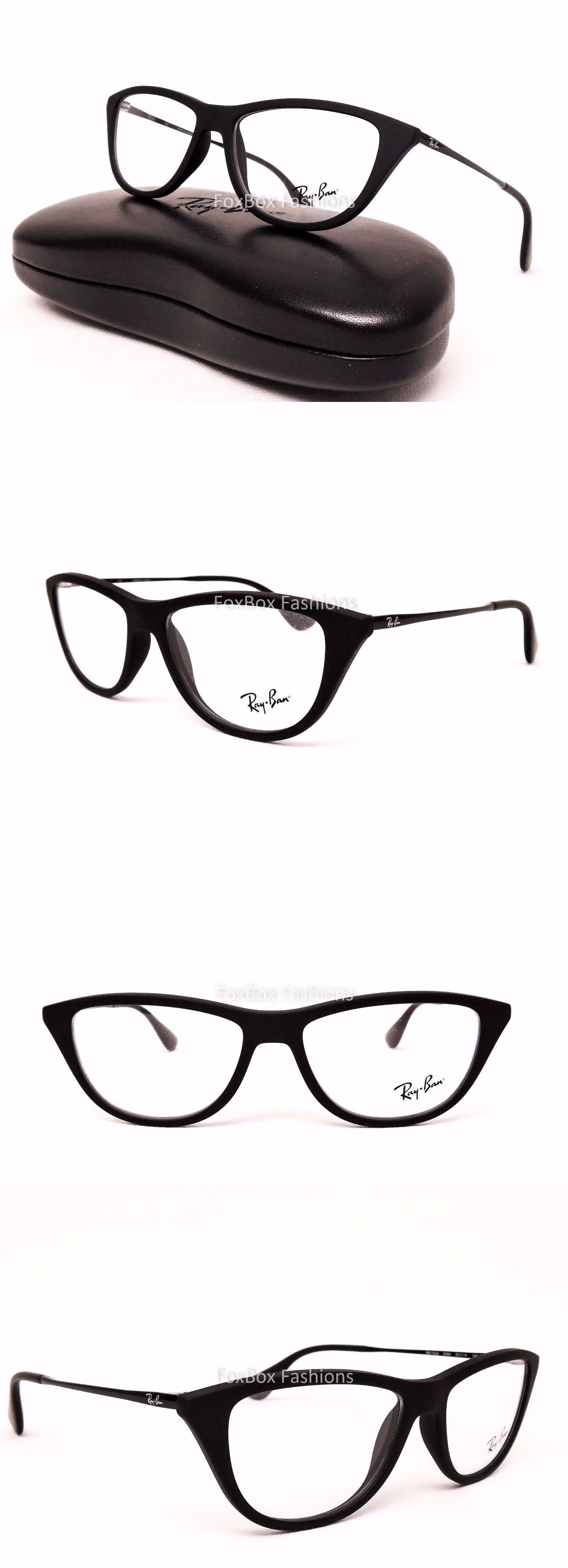 eyeglass frames ray ban rb 7042 5364 eyeglasses optical frames glasses matte black 52mm