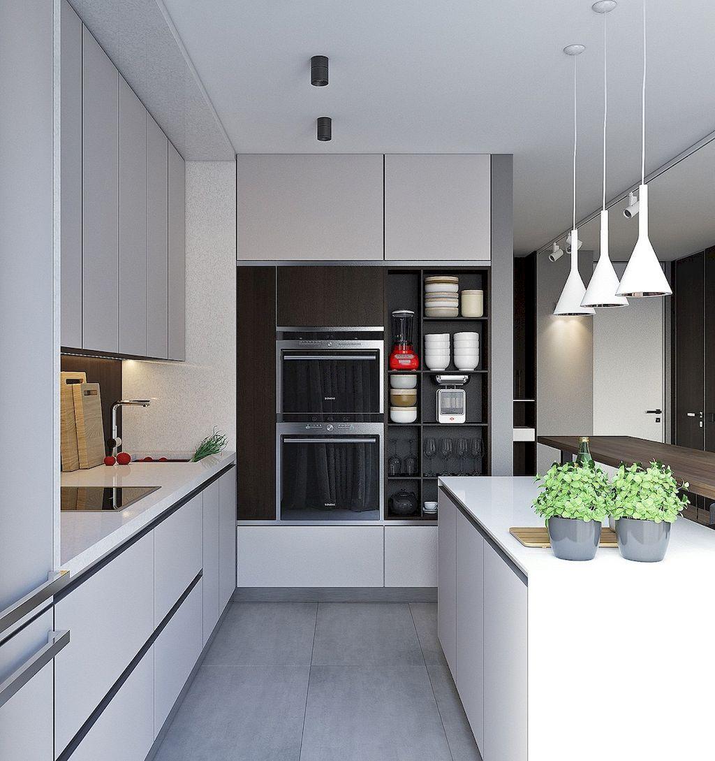 75 Minimalist Kitchen Design Trends  Design Trends Kitchen Classy Kitchen Design For Small Houses Design Ideas
