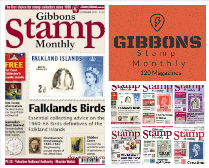 Gibbons Stamp Monthly 120 Magazins In Pdf File Download Stamp Catalogue Stamp Pdf