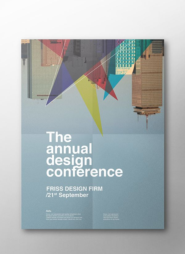 The Annual Design Conference posters on Behance Poster Pinterest - fresh invitation meeting
