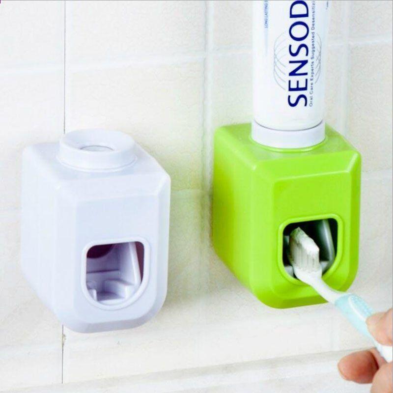 Automatische Zahnpastaspender Zahnburstenhalter Badezimmer Produkte