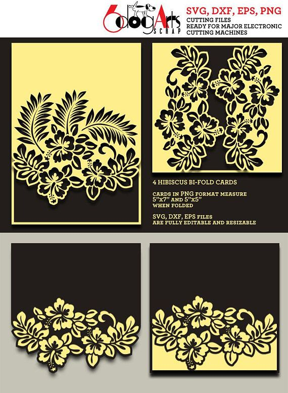 4 hibiscus lace card templates digital cut svg dxf files wedding 4 hibiscus lace card templates digital cut svg dxf files wedding invitation stationery laser cuttable download silhouette cricut jb 832 stopboris Image collections