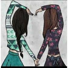 Dibujos De Amistad Para Una Amiga bonita  amistad  Pinterest