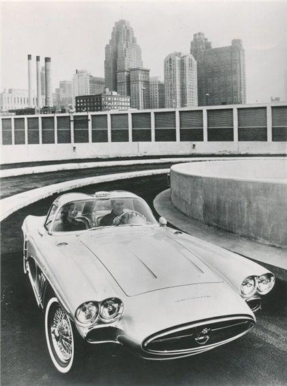 1958 Chevrolet Corvette Xp 700 Concepts In 2020 Chevrolet Corvette Corvette Concept Cars