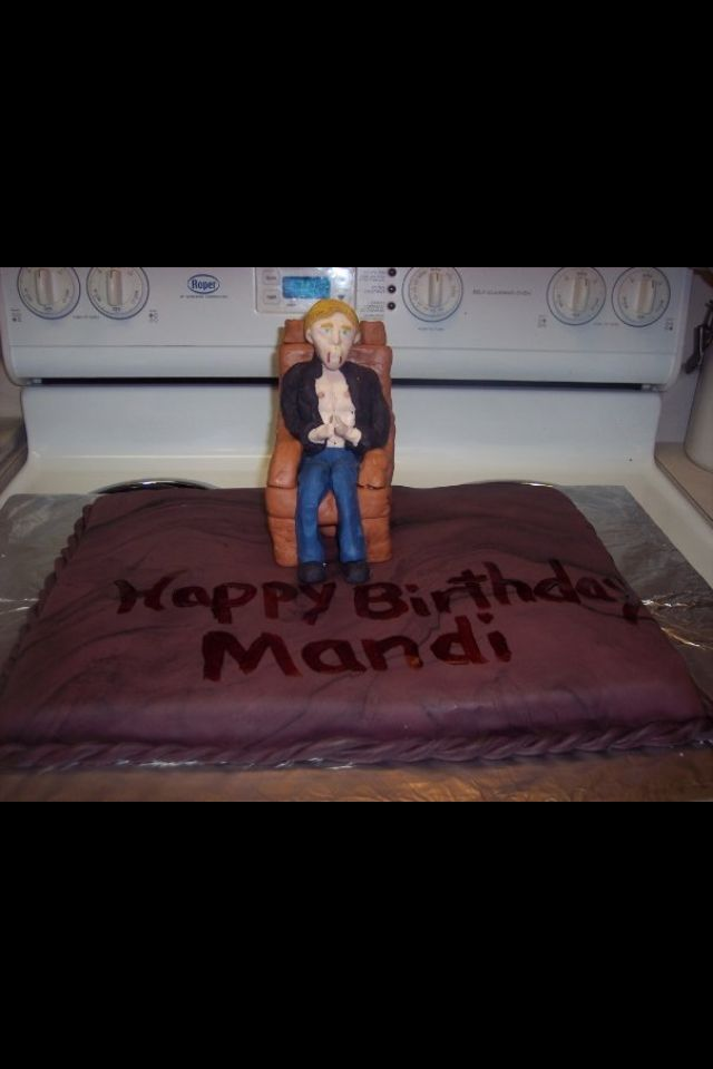 True Blood inspired Vampire Bday cake