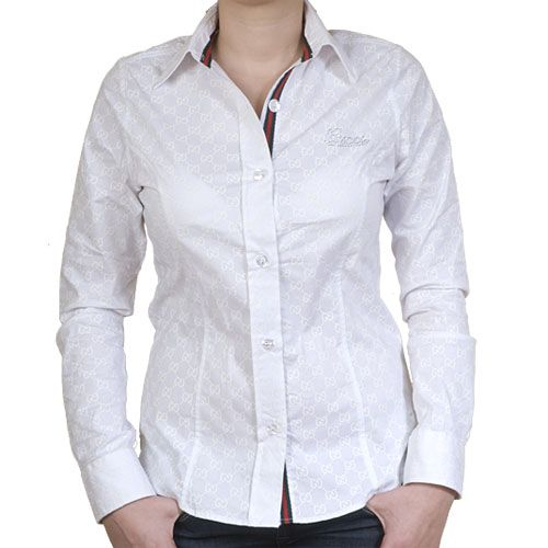 Womens White Dress Shirt