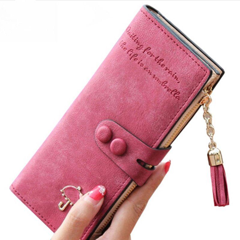 018a86fa132fe Long Women Wallets Luxury Famous Brands Designer Female Bag Ladies Cute Women s  Purse Walet Leather Carteras Card Holder Cuzdan   Price   1356.00   FREE ...