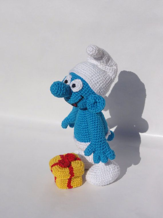 Jokey  Amigurumi Häkeln Muster von IlDikko auf Etsy, $5.20, crochet pattern smurf, Schlumpf