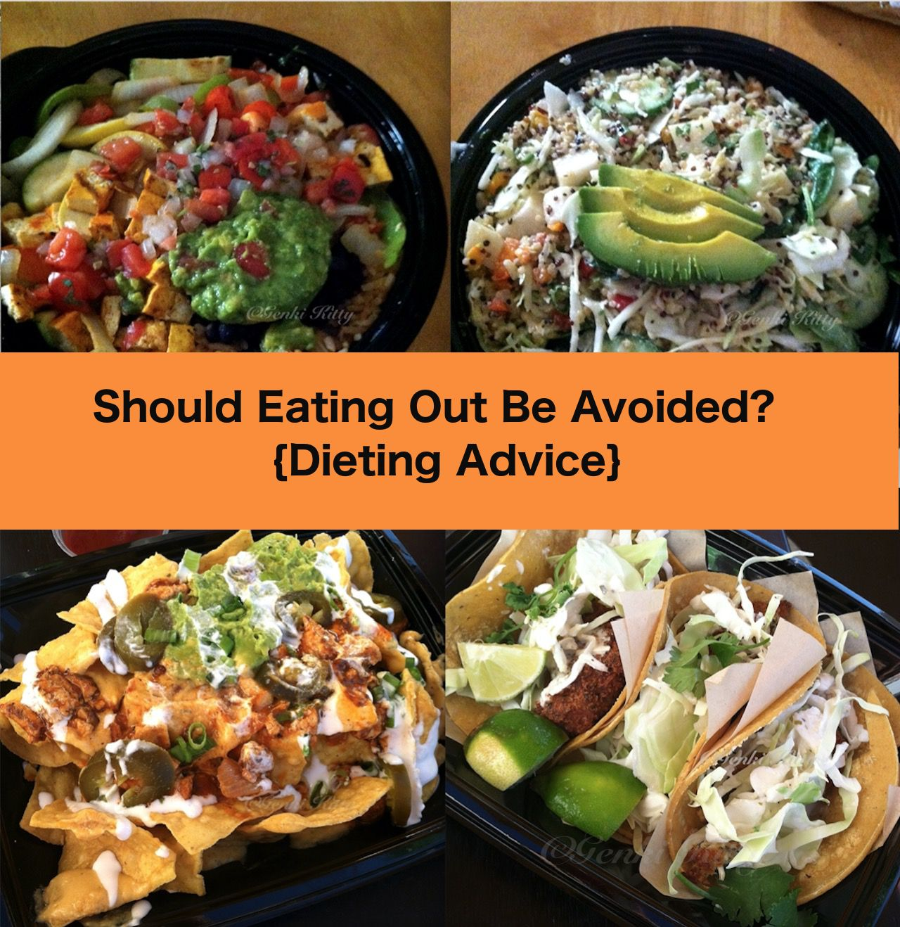 Should eating out be avoided?  Weight Loss advice
