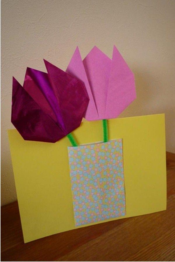 make origami tulip
