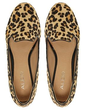1ef3157f99e ALDO Buschur Leopard Pony Slipper Shoes