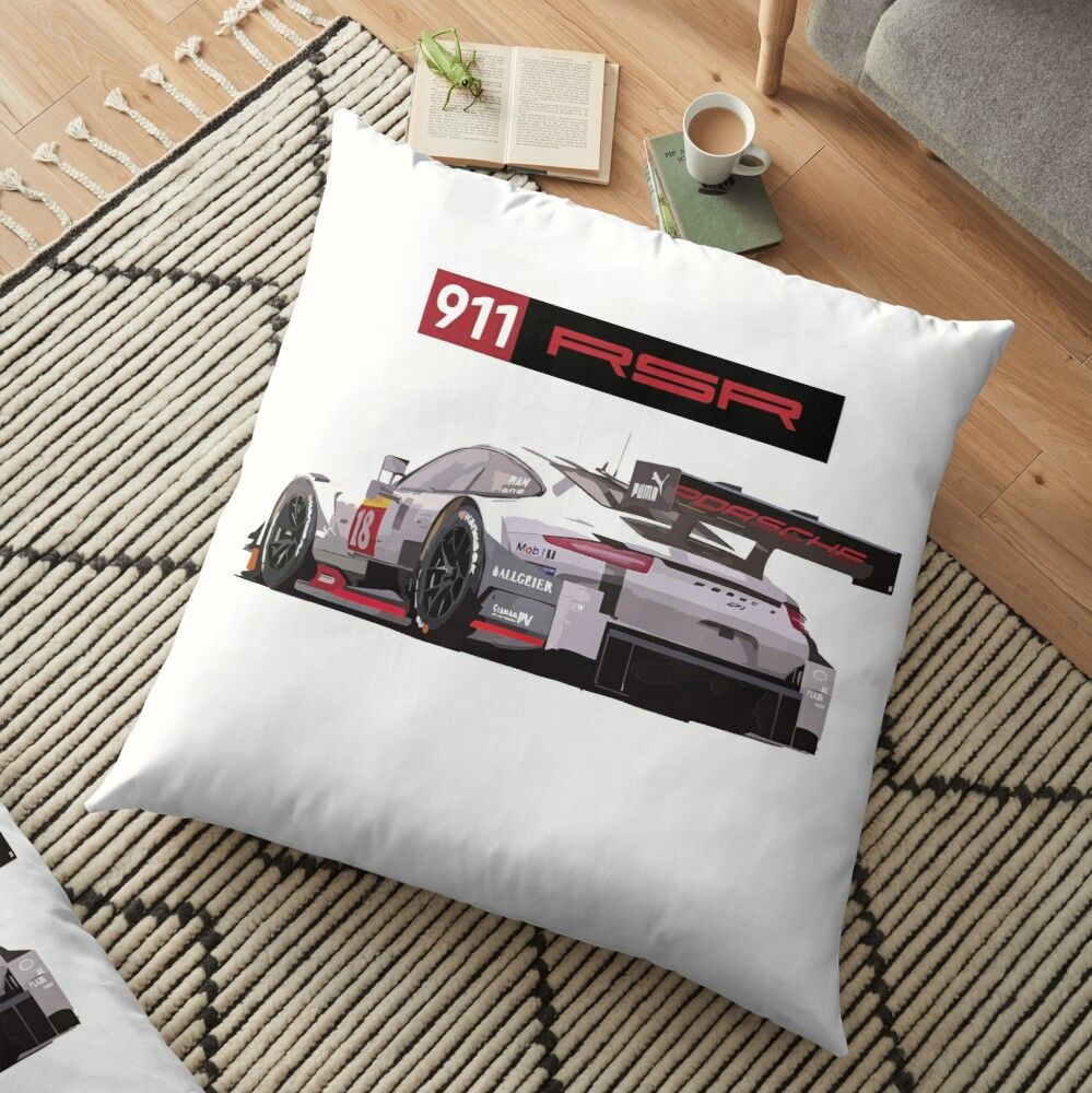 Get My Art Printed On Awesome Products Support Me At Redbubble Rbandme Https Www Redbubble Com I Floor Pillow Rsr Imsa Race In 2020 Floor Pillows Race Cars Racing
