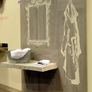 NATURE DESIGN - Bathroom sink top. Top lavabo. #CADORIN FLOOR AND DECOR