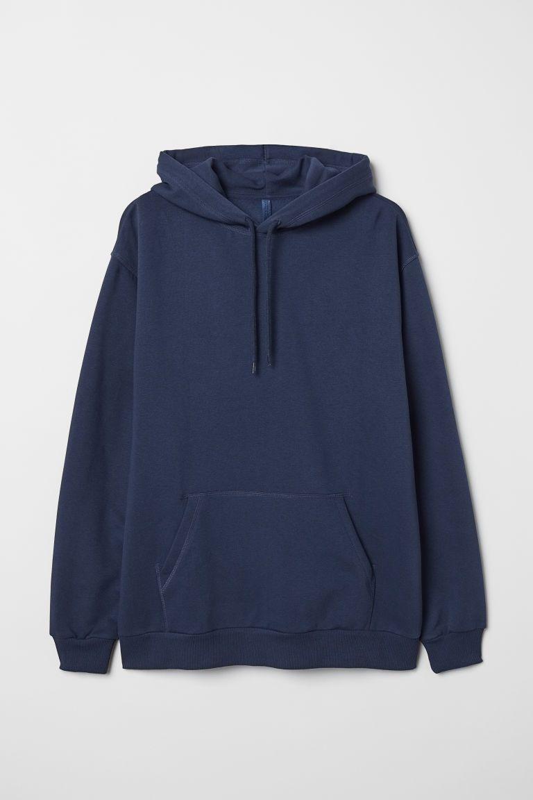 Hoodie Dark Blue Men H M Ca Stylish Hoodies Blue Sweatshirt Mens Hoodies [ 1152 x 768 Pixel ]