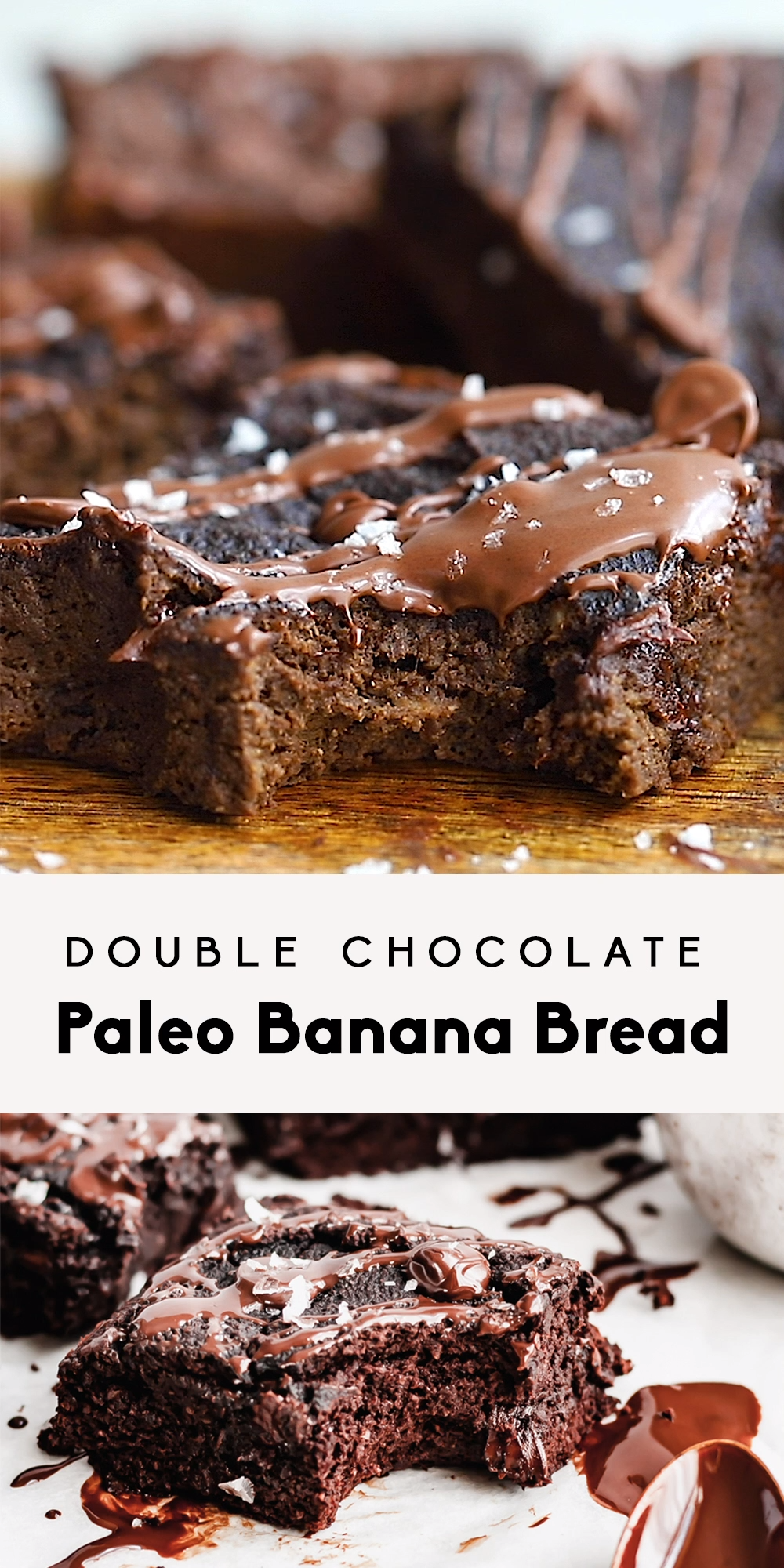 Double Chocolate Paleo Banana Bread images