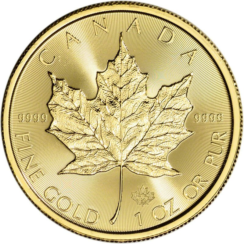 2020 Canada Gold Maple Leaf 1 Oz 50 Bu In 2020 Rare Gold Coins Gold Coins Bullion