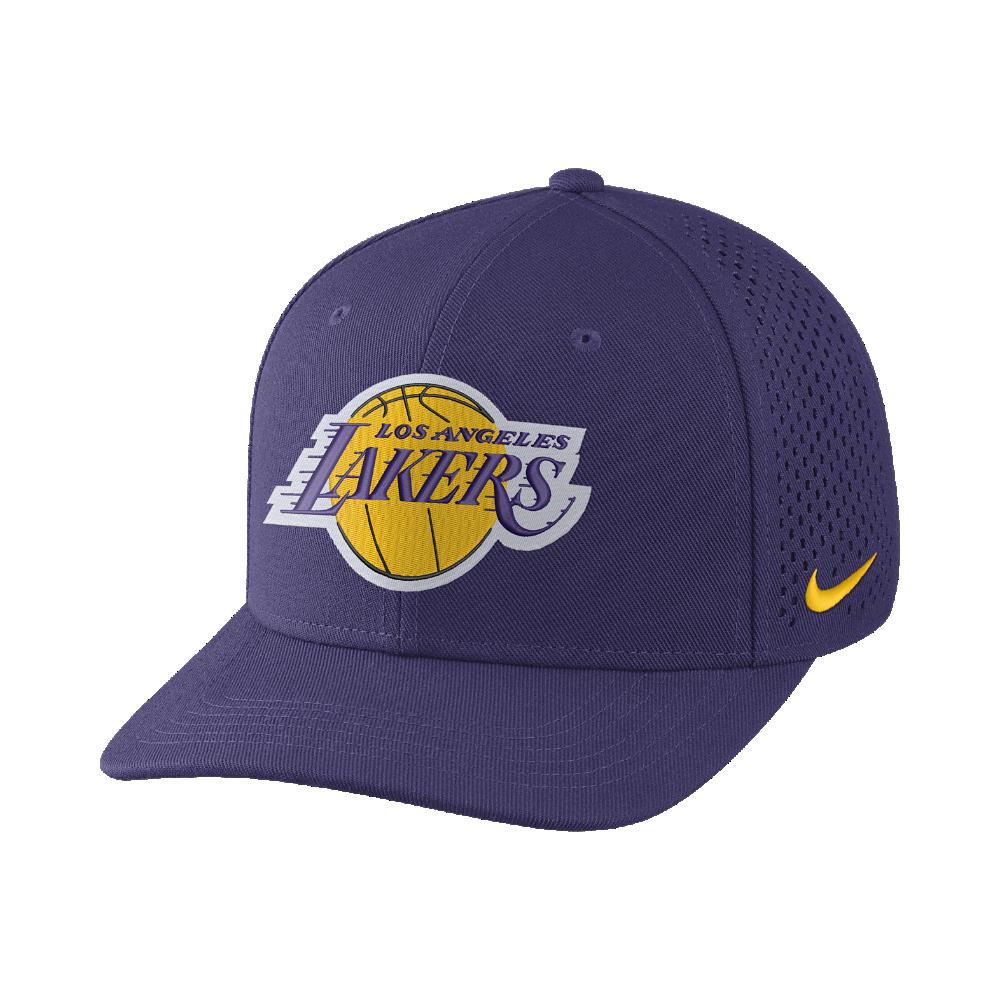 Los Angeles Lakers Nike AeroBill Classic99 Adjustable NBA Hat (Purple) 9c38696da08